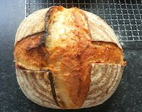 White Sourgdough Boule