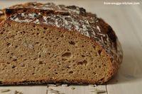 Multigrain No Knead Bread