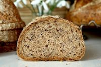 Whole Wheat Flaxseed Sourdough