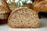Whole Wheat Flaxseed Sourdough