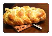 Jewish Challah Bread ( Six Strand Braided)