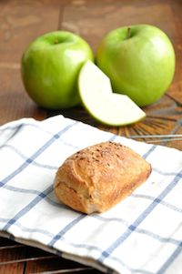 Whole Wheat Caraway Apple Bread