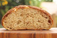 Bran Encrusted Levain Bread