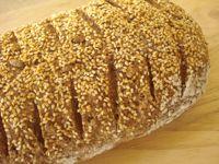 Whole Wheat Multi-Seed Sourdough Batard