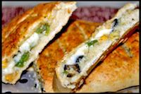 Stuffed Garlic Bread - Dominos Style