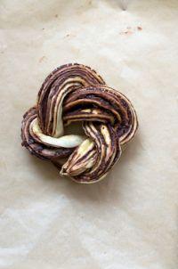 Chocolate Yeast Cake & Roulade
