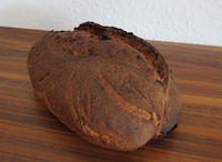 Brot Mit Violetten Kartoffeln