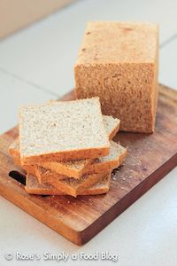 100% Whole-wheat Bread