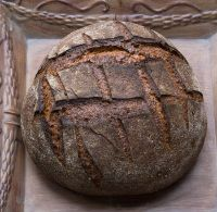 Kamut-Turkey Miche With Black Cherry Cider