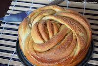 Cinnamon Rose Bread