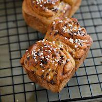 Whole Wheat Cinnamon Swirl Mini Loaves.