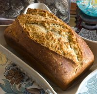 Durum Sourdough English Muffin Bread