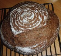 American Pumpernickel With Coffee And Fennel