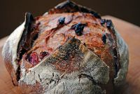 Red Wine Sourdough With Cranberries