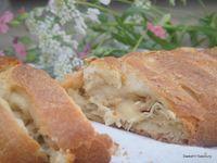 Cheesy Chicken Stuffed Braided Bread
