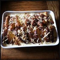 Savoury Bread & Butter Pudding