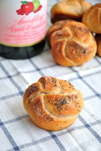 Apple Cider Rosetta Rolls
