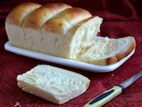 Eggless White Bread With Tangzhong Method