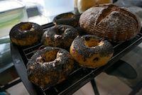 Sweet Potato And Polenta Bagel