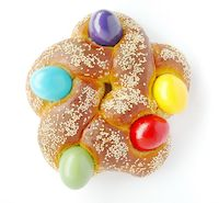 The 5 Pointed Star Easter Bread