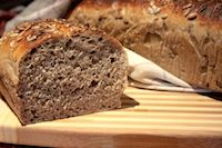 Sourgough Bread With Sunflower Seeds