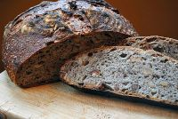 Sourdoudough Bread With Walnuts And Dates