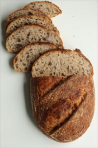 Tartine Bread With Flaxseed