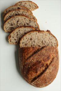 Tartine Bread With Flaxseed