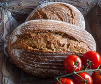 Kamut Turkey Whole Wheat Spelt Tomato Bread