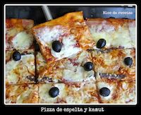 Pizza De Espelta Y Kamut