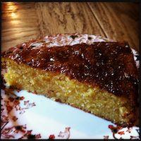 Sodden Orange Cake
