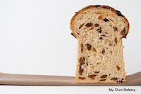 Raisins And Macadamian Nuts Bread