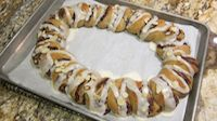Almond Chocolate Pastry Ring