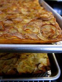 Potato-Rosemary + Onion-Thyme Flatbreads