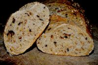 Baguette With Grains And Seeds