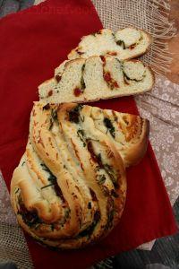 Pane Bianco Filled W/ Garlic, Tomato & Basil