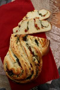 Pane Bianco Filled W/ Garlic, Tomato & Basil