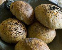 Tangzhong Onion Potato Rolls
