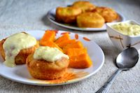 Eggless Savarin