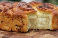 Cheese And Herb Happy Bread