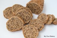 Wheat And Lino Seeds Bread