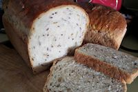 Flax And Sunflower Seed Sandwich Bread