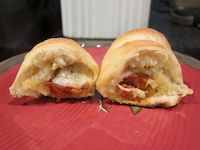 Chorizo And Manchego Rolls