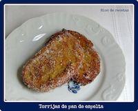 Torrijas De Espelta Y Su Pan