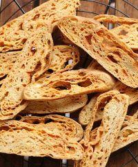 Parmesan Focaccia & Biscotti