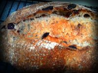 Cherry Lapsang Souchong Sourdough