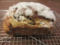 Cardamon, Currant And Candied Orange Peel Loaf