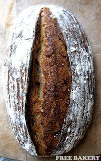 Whole Wheat Flour With Wthite Rye Flour Loaf