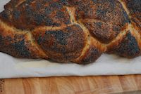Four Strand Plaited Poppy Seed Loaf