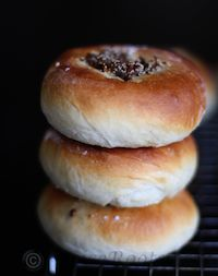 Bialy With Mint And Paneer